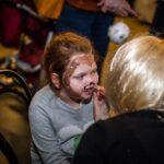 Mikołajki 2017 - malowanie twarzy