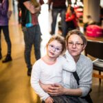 Mikołajki 2017, mama i córka, wspólne zdjęcie