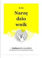 Okładka broszury: tytuł